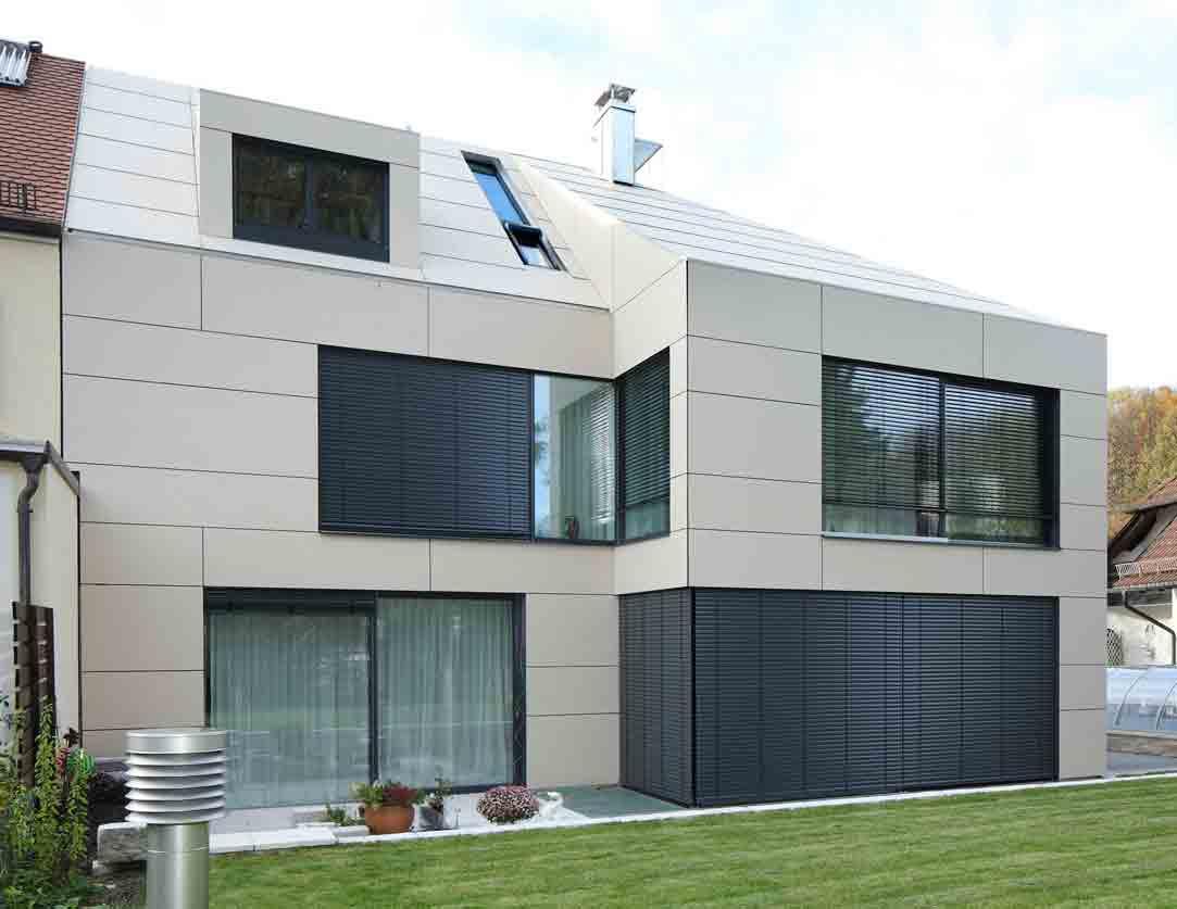 Haus am Westpark Rückansicht Tragwerksplanung München Teuteberg Ingenieure