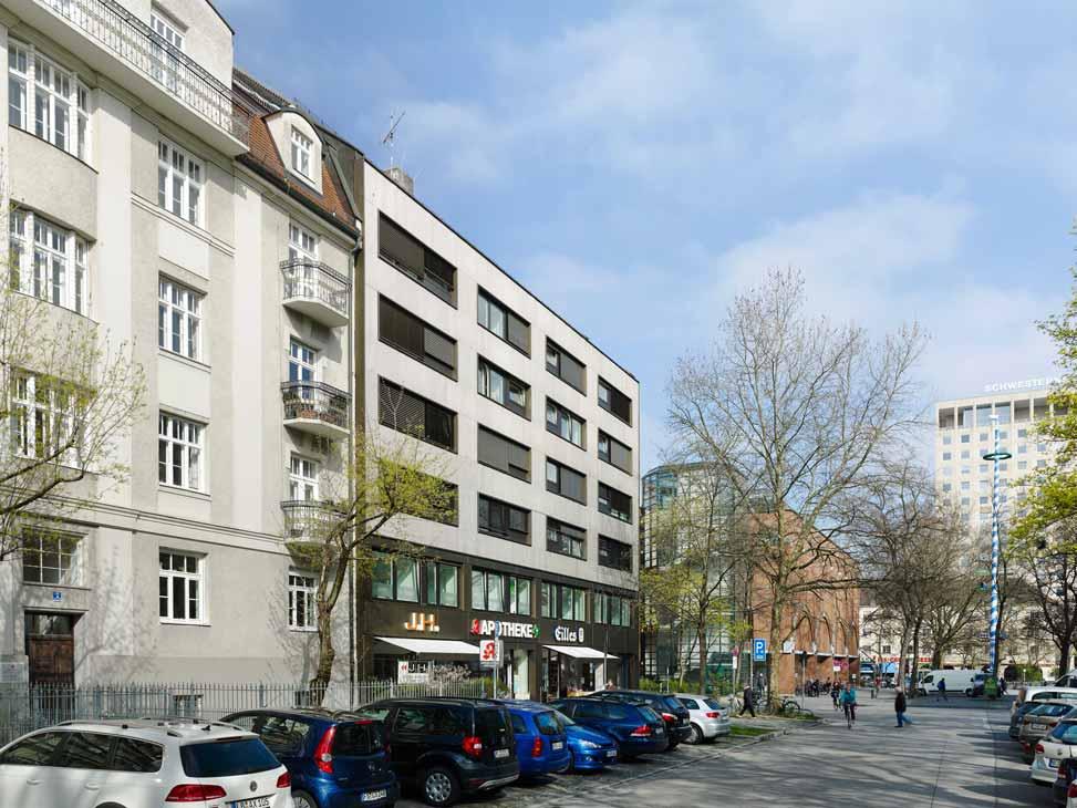 Holzbauingenieur München Donnersbergerstrasse